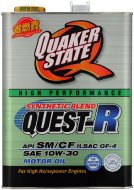 QuakerState クエーカーステート クエスト-R 10W30 4L 6缶