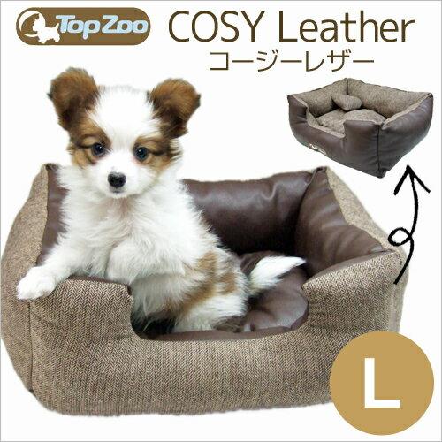 【クーポン発行中】~9/7 1:59TopZoo トップズー ドゥドゥコージー レザー(Lサイズ)/ベッド マット 小型犬用ベッド 猫用ベット ペット ベッド Pet Bed 犬用品 猫用品 ペット ペットグッズ ペット用品