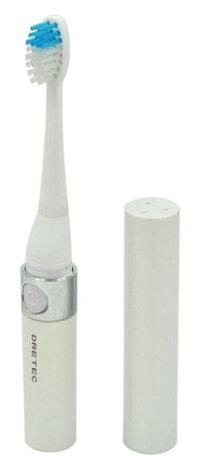 DRETEC/ドリテック音波式電動歯ブラシ「ドクター・ソニック」TB-303WTホワイト