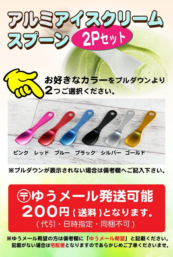 パール金属 日本製 アルミアイスクリームスプーン2Pセット