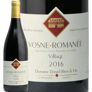 ヴォーヌ ロマネ 2016 ダニエル リオン Vosne Romanee Daniel Rion 赤ワイン ブルゴーニュ ピノ ノワール フィラディス フランス