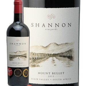 シャノン マウント バレット 2014 Channon Mount Bullet 赤ワイン 南アフリカ エルギン メルロー スマイル