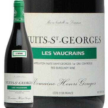 ニュイ サン ジョルジュ 1級 ヴォークラン 1996 アンリ グージュ Nuits St Georges 1er Vaucrains Henri Gouges 赤ワイン フランス ブルゴーニュ プルミエ クリュ フィラディス 1er PC