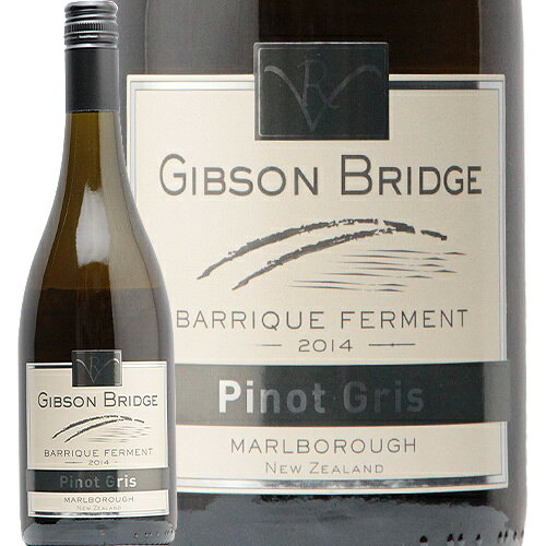 ワイン, 白ワイン 2 2014 Pinot Gris Barrique Ferment Gibson Bridge