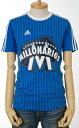 adidas ミジョナリオスTシャツ[エアフォースブルー/ホワイト] メンズアディダスTシャツ