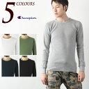 [チャンピオン サーマル] ロングスリーブ Tシャツ C3-E430CHAMPION BASIC LONGSLEEVE T-SHIRT