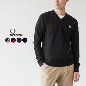 フレッドペリー クラシック Vネック ジャンパー K9600 メンズ セーター