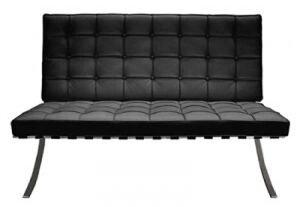 送料無料バルセロナチェア2Pリプロダクトバルセロナチェアーミースファンデルローエデザイナーズソファ2人掛けニ人掛けレザー椅子イスチェアチェアーデザインデザインチェアインテリア05P07Feb16