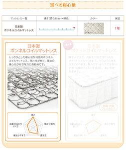 日本製ローベッド連結ベッドJointLongジョイント・ロング国産ハードボンネルコイルマットレス付きワイドK220ロングベッド◆棚付きコンセント付き照明付きワイドK220サイズファミリーベッド低いベッドロングサイズ家族ファミリー分割040120132