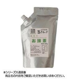 【代引き・同梱不可】 かき氷生シロップ 西尾のお抹茶 業務用600g 3パックセット