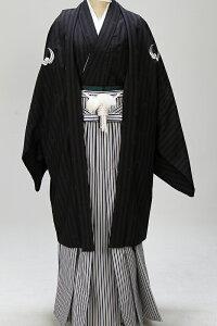 紺4号着物・羽織袴・成人式男性袴