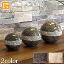 Marble Sphere (dots design) 3set(2色展開)【 おしゃれ オブジェ 球体 ボール 大理石 マーブル ストーン インテリア 置物 モダン ショールーム バリ島 】