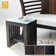 サイドテーブル フロストタイプ アジアン コンソール リゾート おしゃれ デザイン