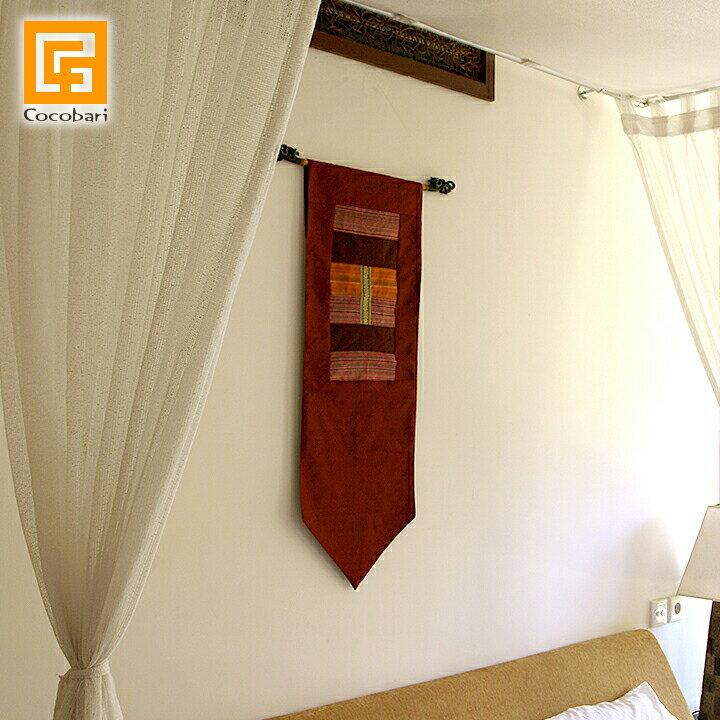 タペストリー(赤色) 【 アジアン 壁掛け 壁飾り アジア布 モダン インテリア 和室 アジアン 雑貨 バリ 雑貨 おしゃれ 】《メール便対応可》