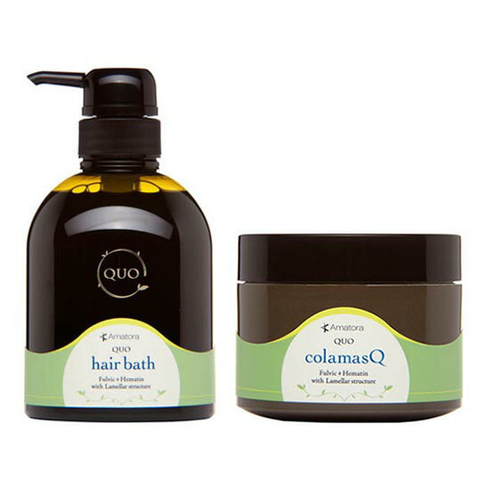 Amatora Quo shampoo 400mL+Treatment 250 g set