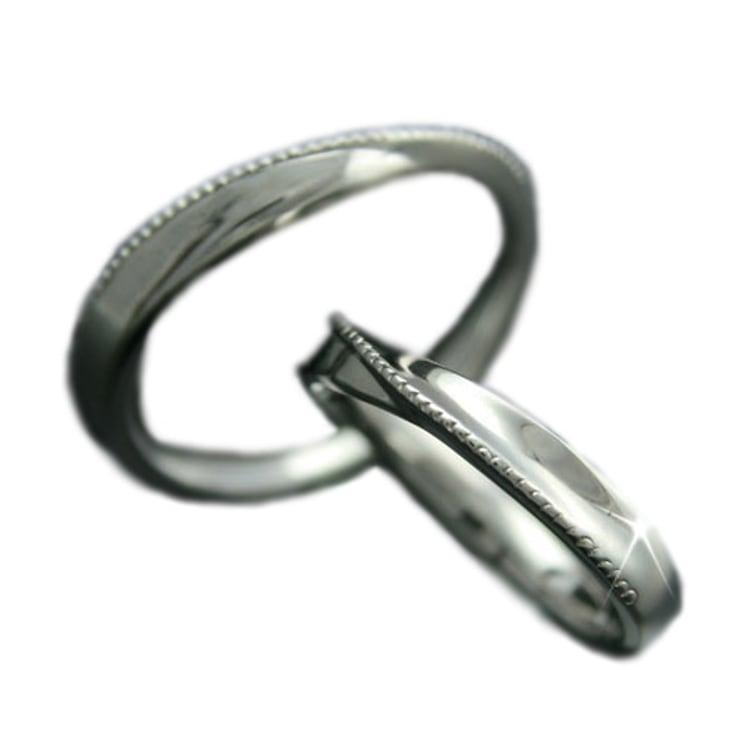 マリッジリング ペアリング プラチナ 結婚指輪 Pt900 2本セット 日本製【NEWショップ】 【ペアリング】【プラチナ】【リング】【結婚指輪】:ココカル