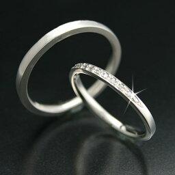 ペアリング k18 イエローゴールド/ホワイトゴールド/ピンクゴールド ダイヤモンド 2本セット 天然ダイヤ 品質保証書 金属アレルギー 日本製 おしゃれ ジュエリー ギフト プレゼント