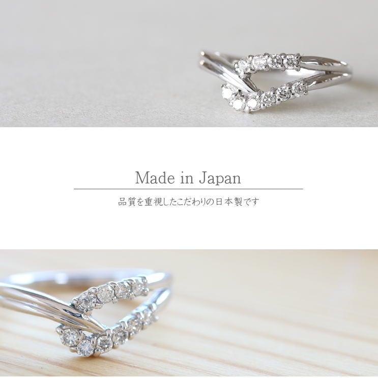 指輪 K10ゴールド リング 天然ダイヤモンド 日本製【指輪】【ゴールド】【リング】【ダイヤモンド】