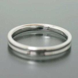 ペアリング2本セットK10ホワイトゴールドマリッジリング結婚指輪逆甲丸日本製【NEWショップ】
