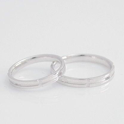 ペアリング 2本セット K18 ホワイトゴールド 結婚指輪 日本製【NEWショップ】 【ペアリング】【ホワイトゴールド】:ココカル