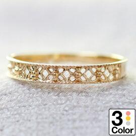 K10ゴールドリング結婚指輪ホワイトゴールドイエローゴールドピンクゴールド日本製