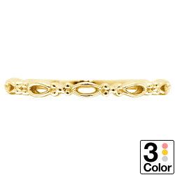 指輪K10ゴールドリングイエローゴールドピンクゴールドホワイトゴールド日本製