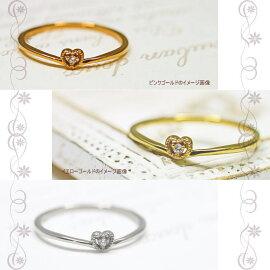 指輪K10ゴールドリング結婚指輪ホワイトゴールドイエローゴールドピンクゴールドマリッジリング天然ダイヤモンド天然日本製