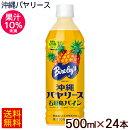 沖縄バヤリース石垣島パイン500ml×24本(果汁10%)【送料無料】 パインジュース1ケース 