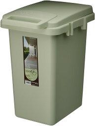 コンテナスタイル 33J CS2-33JLGR 東谷 [代引不可] 蓋つきゴミ箱 おしゃれなキッチンペール ごみ箱 分別