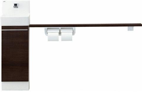 コフレル 【YL-DA82VKH15B】 トイレ手洗 スリム(埋込) ハンドル水栓 カウンター キャビネットタイプ(左右共通) 【YLDA82VKH15B】 LIXIL リクシル  INAX イナックス 手洗い器 トイレ:換気扇の激安ショップ プロペラ君