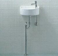 トイレ手洗い器一式セット YAWL-33 (S) INAX イナックス LIXIL リクシル 手洗い器 壁給水 床排水 (Sトラップ) 汚れが付きにくいアクアセラミック仕様 YAWL-33S