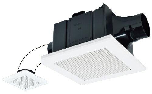 三菱換気扇VD-15ZFPC12ダクト用換気扇天井埋込形(ACモーター搭載)浴室・トイレ・洗面所用プラスチックボディ(旧品番:V