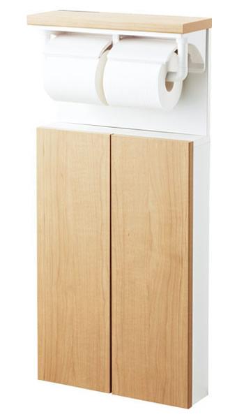 TSF-211U トイレ収納 キャビネット INAX イナックス LIXIL リクシル 埋込収納棚 (インテリアリモコン対応紙巻器/トイレットペーパーホルダー付) トイレアクセサリー TSF211U