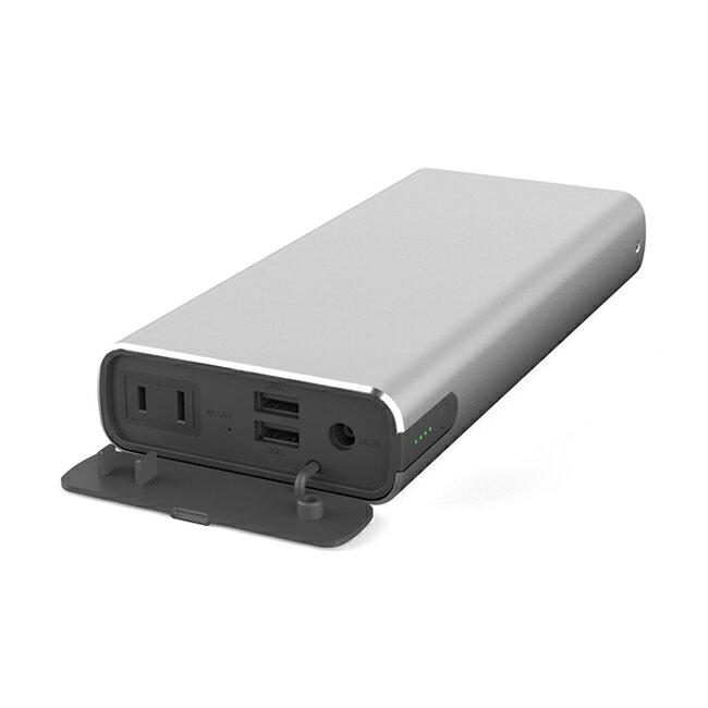 マクセル大容量ACコンセント付モバイルバッテリー22800mAhMPC-CAC22800(シルバー)USBモバイル充電バッテリーPC充電災害時予備電源ゲーム機65Wキャンプアウトドア
