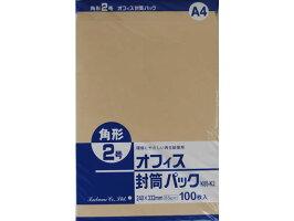 クラフト封筒角285g/m2100枚/K85-K2