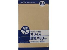 クラフト封筒角785g/100枚/K85-K7
