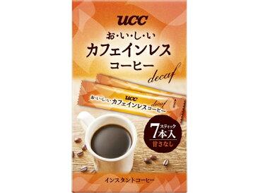 UCC/おいしいカフェインレスコーヒースティック7P/393258【ココデカウ】