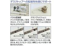 コクヨ/BS型+デスクシステム片袖机/SD-BSN167LV3F11N3