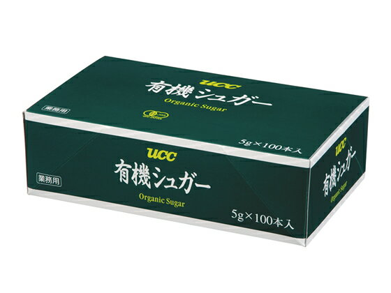 UCC/有機シュガー5g×100P/460652【ココデカウ】