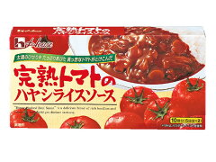 【送料290円 2900円以上で送料無料】【平日即日発送】ハウス/完熟トマトのハヤシライスソース 200g