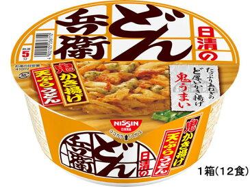日清食品/日清のどん兵衛かき揚げ天ぷらうどん 12食