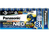 パナソニック/乾電池 エボルタネオ 単3形 8本/LR6NJ/8SW