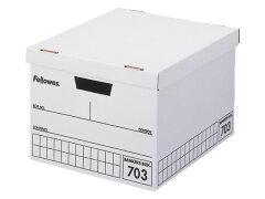 【送料無料】【平日即日発送】フェローズ/バンカーズボックス 703ボックス A4 黒 3個入/0970302