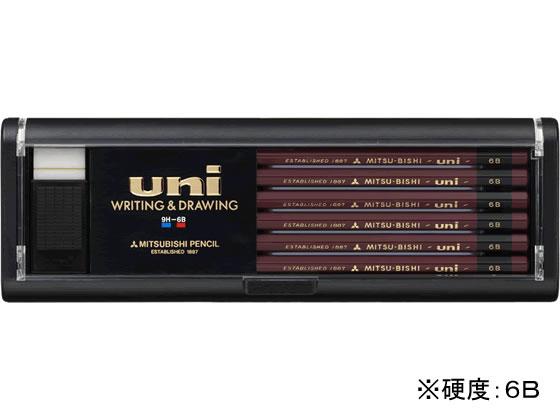 三菱鉛筆/鉛筆ユニ 6B 12本/U6B