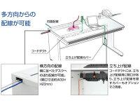 コクヨ/iSデスク片袖A4タイプW1000D700/SD-ISN107LCASPAWN
