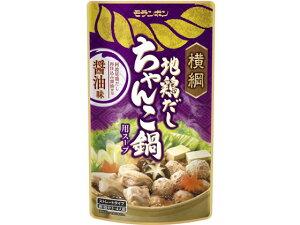 モランボン/横綱 地鶏だし ちゃんこ鍋用スープ 醤油味