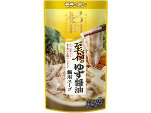 モランボン/コク旨スープがからむ 至福のゆず醤油鍋用スープ