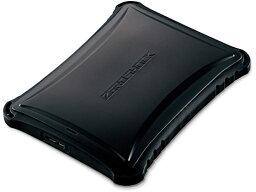 【お取り寄せ】エレコム/SSD 外付 ZEROSHOCK 250GB/ESD-ZSA0250GBK