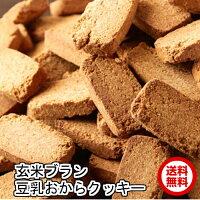 おやつで食物繊維玄米ブラン豆乳おからクッキーTripleZero1kg