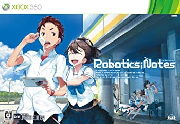 【中古】ROBOTICS;NOTES(初回限定版 ポケコンバック型スマートフォンケース/設定資料集 同梱) - Xbox360画像